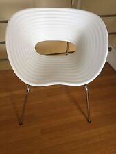 VITRA Original TOM VAC Chair Ron Arad DWR  Bright Solid White