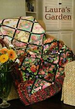 Laura's Garden Quilt Pattern Pieced/Paper Pieced LH