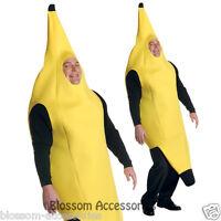 C197 Mens Womens Banana Deluxe Humorous Fancy Dress Halloween Adult Costume