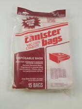 Pack of 15 Genuine Sears Kenmore Canister Vacuum Bags 2050555 5055