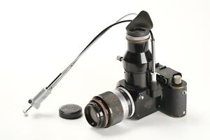 Leitz Leica IC non Standard Umbau in IIIa Syn Nr. 54485, Hektor nur Kopf4,5/13,5