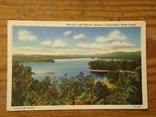 Vintage Postcard Lake Winona, Source Of Little Rock's Water Supply, Ark.