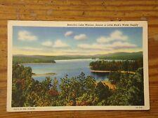 Vintage Postcard Lake Winona, Source Of Little Rock's Water Supply, Ark.