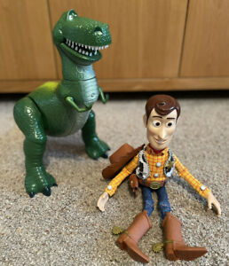 Toy Story Woody And Rex Figures