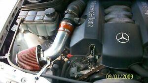 BCP RED 1998-2003 Mercedes E320 E430 ML320 CLK320 97 E420 Short Ram Intake