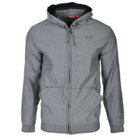 Puma CFT Evo Hooded Grey Zip Jacket Coat Mens 553379 01 UA80