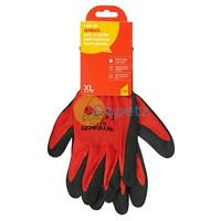 Amtech Nitrile Performance Lightweight DIY Gardening Maintenance Gloves Size 10