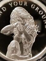 Grace the Fairy 1 OZ .999 Silver Art Slab Proof Tom Grindberg Marvel /& DC fame