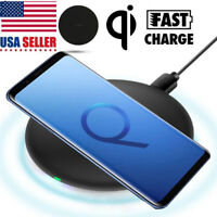 Wireless Charger Qi for Samsung Galaxy S6 7 8 iPhone 8 X Cell Phone Charging Pad