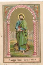 Nr 16721  Andachtsbild holy card Litho St. Marcus