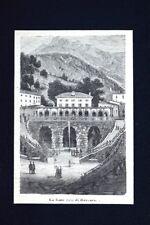La fonte Lelia di Reccaro Incisione del 1875