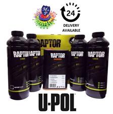 UPOL Raptor 4L Tough Urethene Coating Truck Bed Liner BLACK U-POL