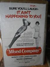 Authentic Movie Poster 1974 Mixed Company Comedy Barbara Harris Joseph Bologna