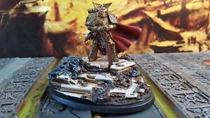 Forgeworld Primarch Imperial Fists Rogal  Dorn pro painted made to order
