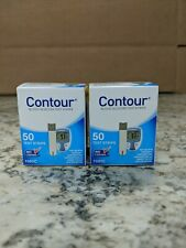 2 boxes of Contour test strips 50 count