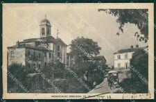 Pavia Montecalvo Versiggia Carrozza PIEGHINA TRACCE UMIDO cartolina QT0407