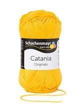 Catania Wolle 50 g Schachenmayr stricken Handarbeit Baumwolle Farbauswahl