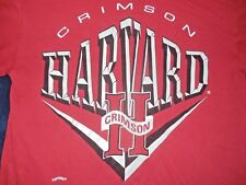Harvard Crimson T-Shirt Mens Large made in U.S.A.