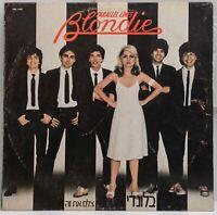 Blondie - Parallel Lines - Vinyl, LP -  Chrysalis - CDL 1192 - Israel - 1978