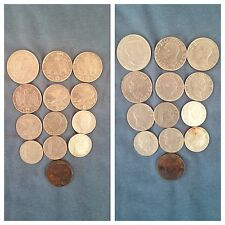Lotto 13 Monete Regno Anti Magnetico 2 Lire 1 Lira 50 20 Centesimi (vedi Desc.)