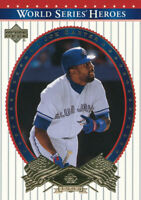 Joe Carter 2002 Upper Deck World Series #6 Toronto Blue Jays Baseball Card