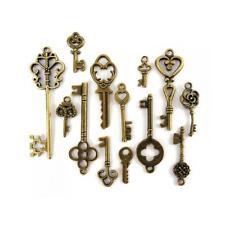 Buddly Crafts metallo chiave charms - 13PCS Antico Bronzo AB17