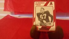 ALABAMA FOOTBALL CARD - MIKE MIZERANY - 1948-50 - RAMSAY HS - CARD NO. 99