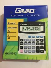 LARGE ELECTRONIC CALCULATOR (COMES WITH A FREE BATTERY)