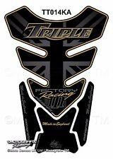 Triumph Triple Street Speed Daytona Motorcycle Tank Pad Motografix Gel Protector
