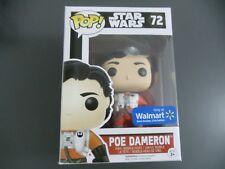 FUNKO POP POE DAMERON UNMASKED WALMART EXCLUSIVE (MARVEL, DC, STAR WARS)