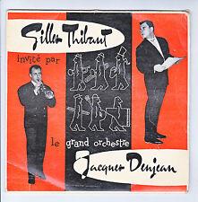 Gilles THIBAUT Orchestre Jacques DENJEAN Disque 45T EP DANSEZ ...CND 4517 RARE