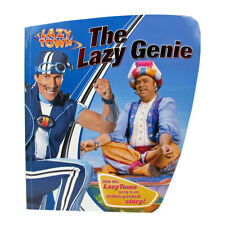 Childrens Book Lazy Town Paper Back Reading Kids The Lazy Genie