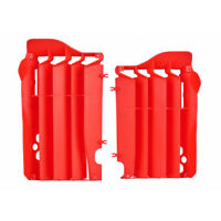 Polisport  Mx Honda CRF450R 2013 2014 Motocross Guards Red Radiator Louvers