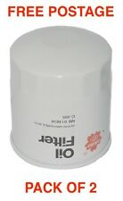 Sakura Oil Filter C-1121 BOX OF 2 Interchangeable with RYCO Z9
