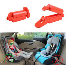 1/2X Safe Baby Car Child Toddler Seat Safety Belt Clip Strap Fixed Lock Buckle