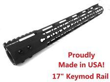 "ADE PRO 17"" inch KEYMOD rail -MADE IN USA!- Super Slim Handguard Free Float"