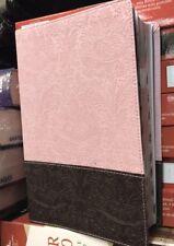 Biblia nueva traducion viviente ntv simipiel rosa cafe condice letra grande