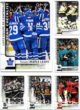 2017-18 OPC Team CHECKLIST **** PICK YOUR CARD **** From The SET