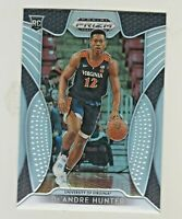 2019-20 Panini Prizm Draft SILVER PRIZM REFRACTOR #4 De'ANDRE HUNTER RC Rookie