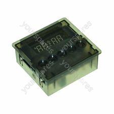 Genuine Indesit Timer 3 Button Green Invensys