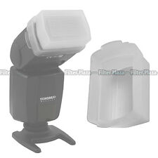 Flash Bounce Softbox Diffuser Cap for Canon Speedlite 430EX & 430 EX II White
