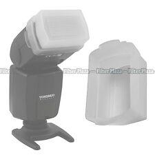 Flash Bounce Softbox Diffuser Cap for Canon Speedlite 430EX & 430 EX II White