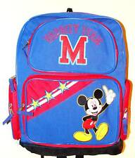 NEW DISNEY MICKEY MOUSE  LARGE BACKPACK