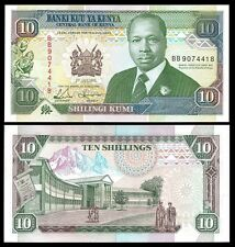 Kenya 10 SHILLINGS 1993 P 24e UNC