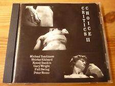 Critics Choice II/Michael Tomlinson Kenny Rankin Gary Wright Peter Noone