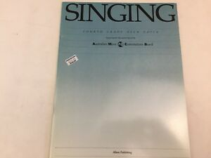 AMEB - Singing - Fourth Grade - High Voice - Music Book - (D)