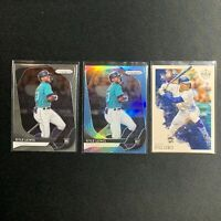 Kyle Lewis 2020 Blue Prizm Refractor 3x RC Rookie Card Lot MARINERS INVEST🔥RARE