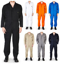 Mens Premium Long Sleeve Coverall Overall Boilersuit Mechanic Protective  Work e0439cf8972