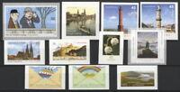 2011sk] Deutschland 2011 selbstklebende Briefmarken postfrisch komplett