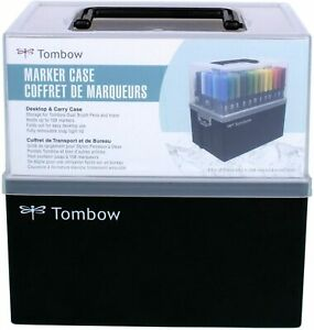Tombow 56178 Marker Case. Easily Stores and Organizes 108 Markers